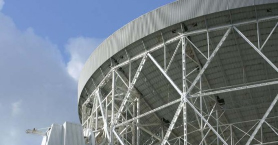Picture of the Lovell Telescope at Jodrell Bank Discovery Centre